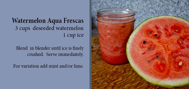 Blog Recipe Watermelon