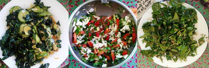 Post image for June 25th Market Recipes – Spinach Basil Salad and Fresh Pico de Gallo